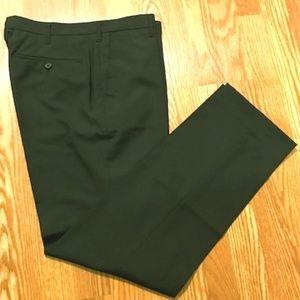 Men's Black Uniqlo Wool Blend Dress Pant Sz 34